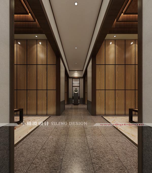 广德笄山竹海温泉度假酒店(五星级)设计-更衣室